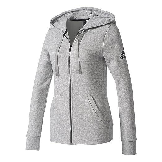 adidas Damen Essentials Solid Kapuzenjacke  Amazon.de  Sport   Freizeit 15845d756e