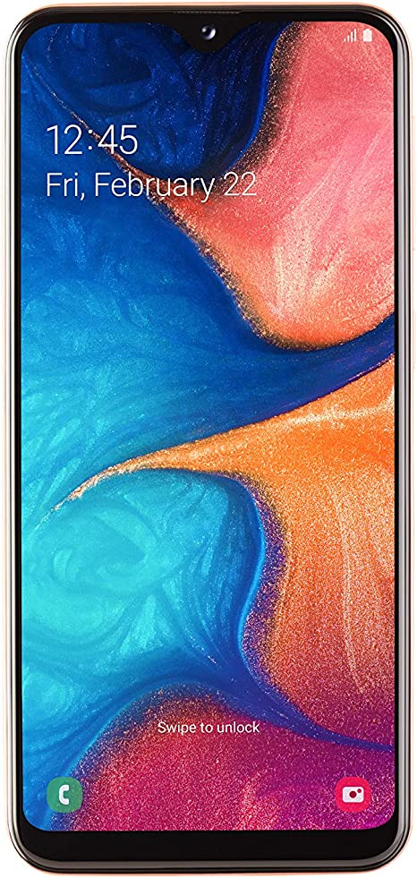 Samsung A20E, Smartphone Super AMOLED (13 MP, 3GB RAM, 32GB ROM ...