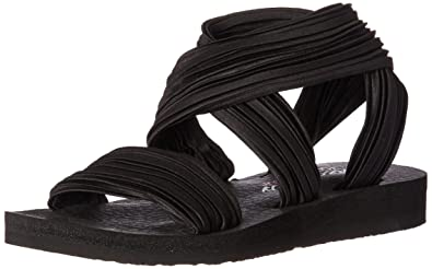 8382576e5f71 Amazon.com  Skechers Women s Meditation-Still Sky Flip-Flop  Shoes
