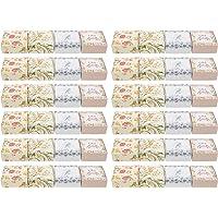 WINOMO 40Pcs Zeep Verpakking Dozen Zelfgemaakte Zeep Bar Wikkelen Dozen Diy Zeep Karton Verpakking Gevallen Voor Zeep…