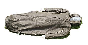 Saco de dormir con mangas (forro interior extraíble, excedente militar alemán)