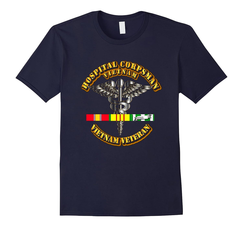 Navy – Hospital Corpsman Vietnam Veteran Tshirt