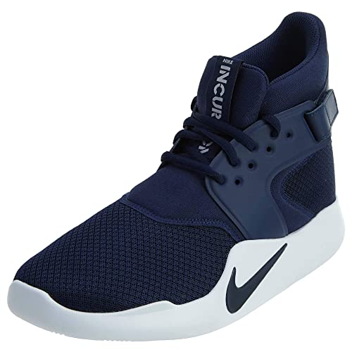 8cde886b513c Nike Men s Incursion MID Midnight Navy-Wht Basketball Shoes-7 UK India (
