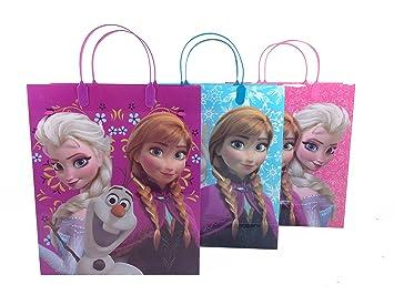 Amazon.com: 12pcs Disney Frozen Mid-Size Treat Bolsas Bolsas ...