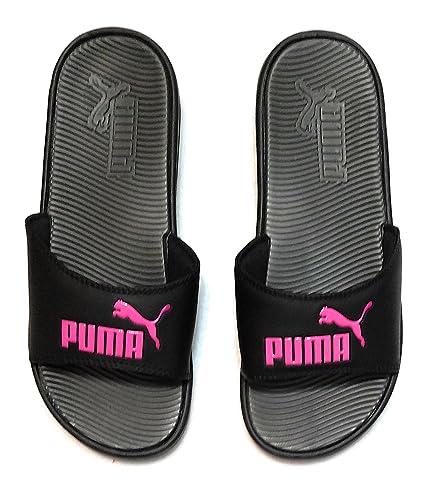 Image Unavailable. Image not available for. Color  PUMA Women s Pop Cat  Athletic Slide Sandals ... b2c5d6418