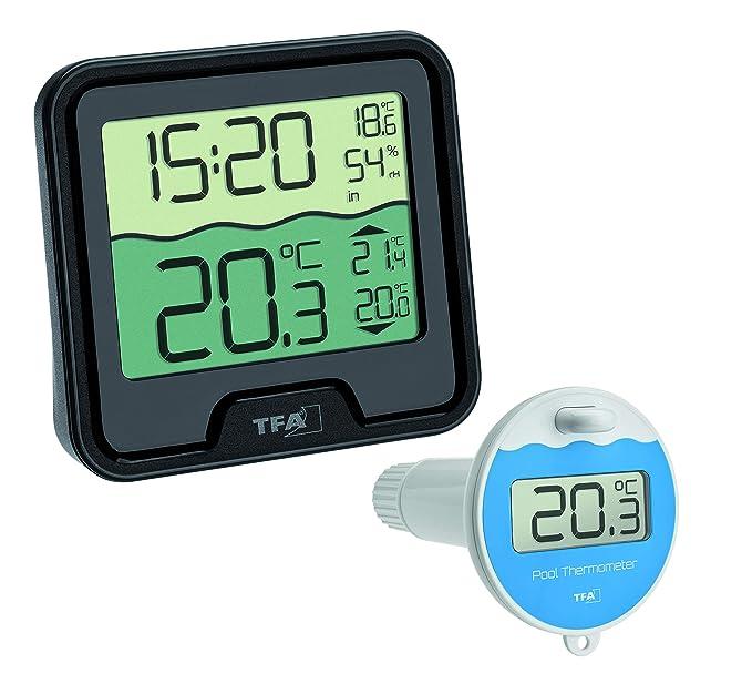 69°C Digitale Wasserdicht Thermometer Duschkopf Wassertemperaturanzeige Alarm