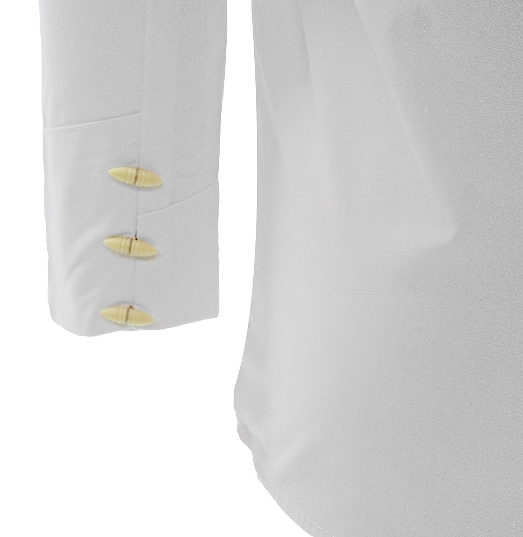 El General Boys Charro Shirt Western Wear Camisa Charra de Ni/ño White//Black