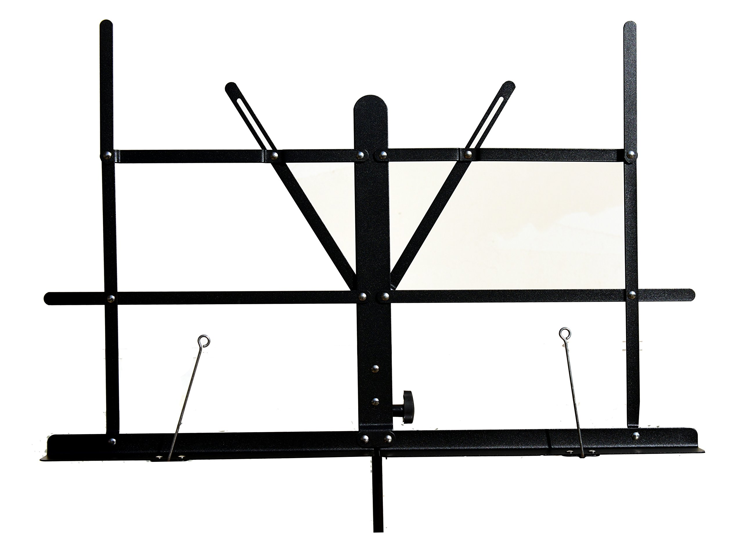 Hisonic Signature Series 7121 Two Section Folding Music Stand with Carrying Bag by Signature Music Instruments (Image #4)
