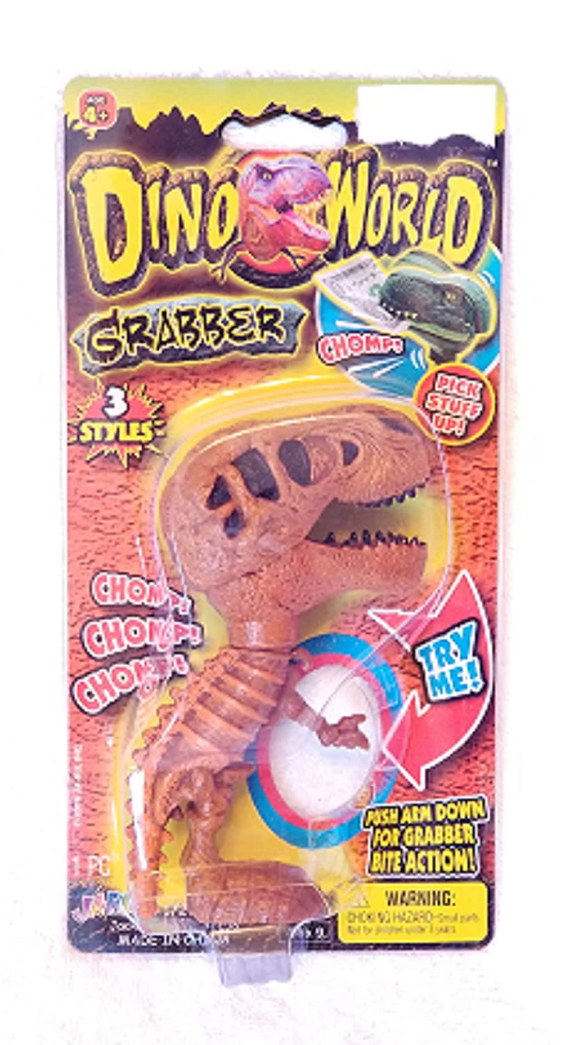 Dino World Grabber Brown and Black
