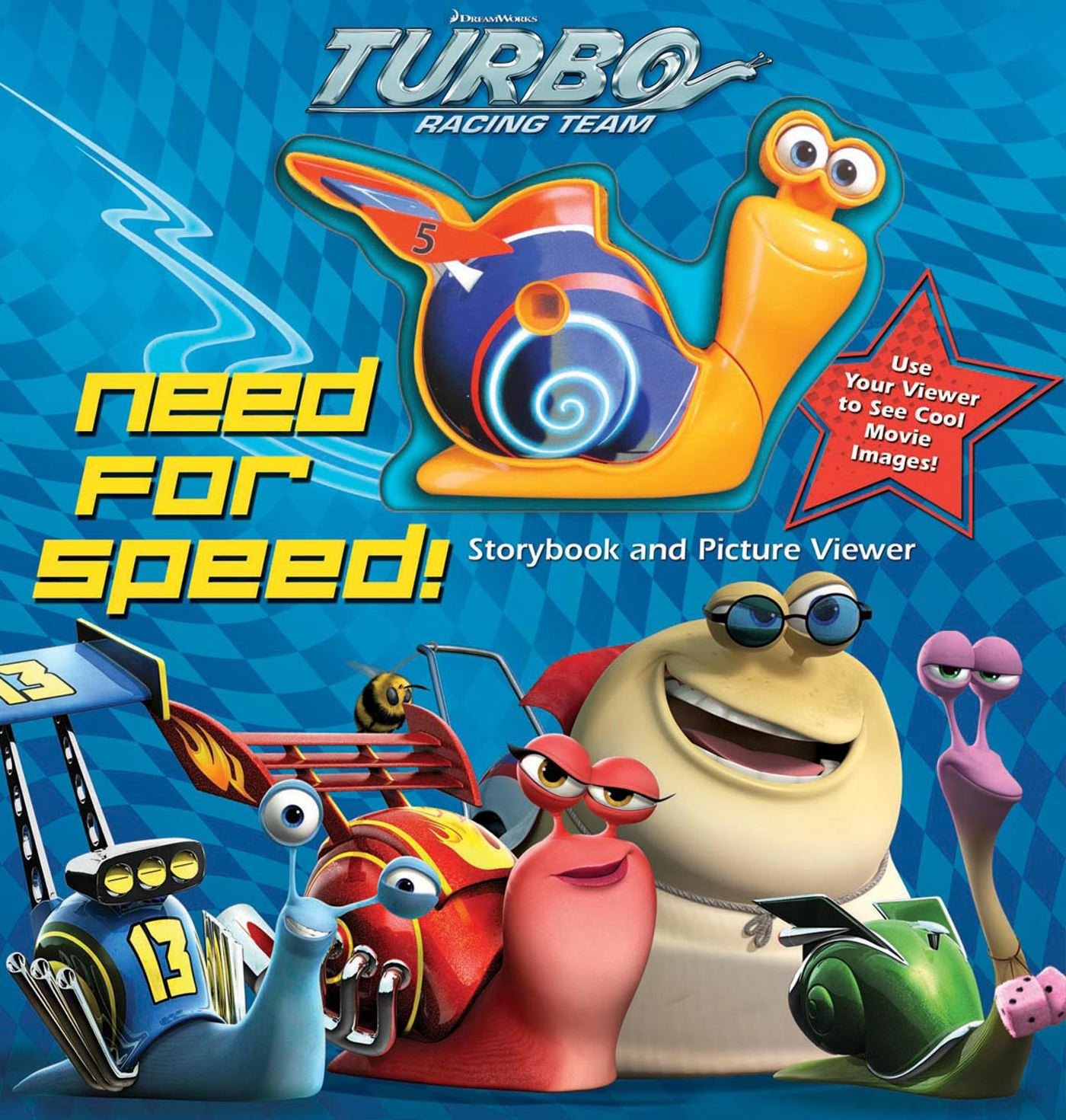 DreamWorks Turbo Need for Speed!: Storybook and Picture Viewer: Dreamworks Turbo: 9780794428464: Amazon.com: Books