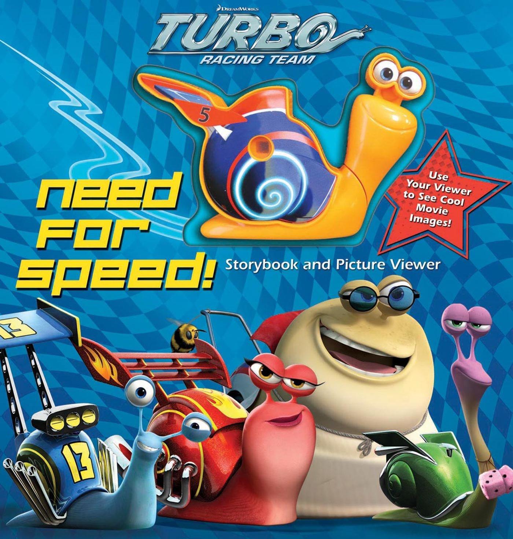 DreamWorks Turbo Racing Team: Need for Speed! With Toy: Amazon.es: Dreamworks Turbo: Libros en idiomas extranjeros