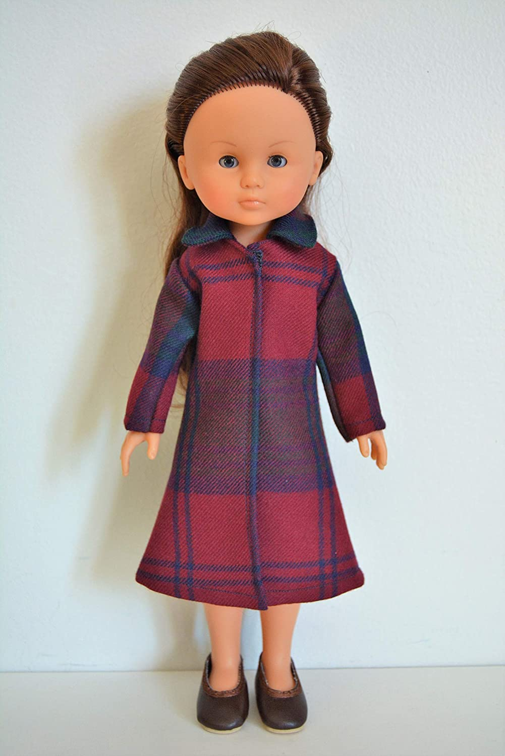 Handmade Doll Clothes Coat Assorted Colors fit 13 Corolle Les Cheries Dolls Handcraft