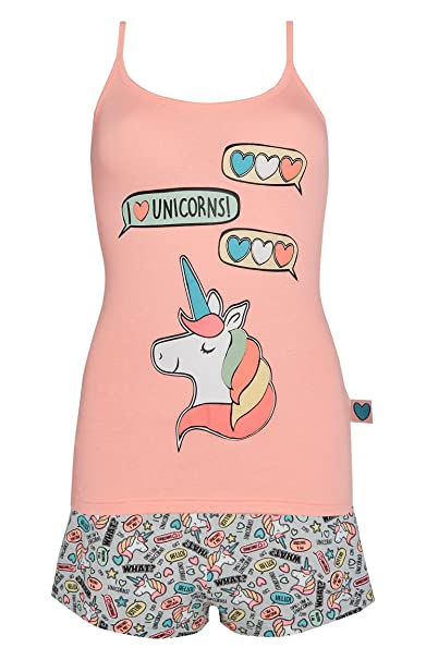 Primark - Pijama - para niña Rosa Coral XL