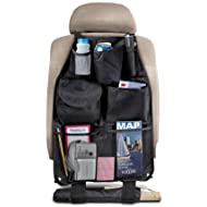 Perfect Life Ideas Backseat Organizer for Car - Holds Garbage Trash Maps Baby Children Toys - Auto Interior Accessories