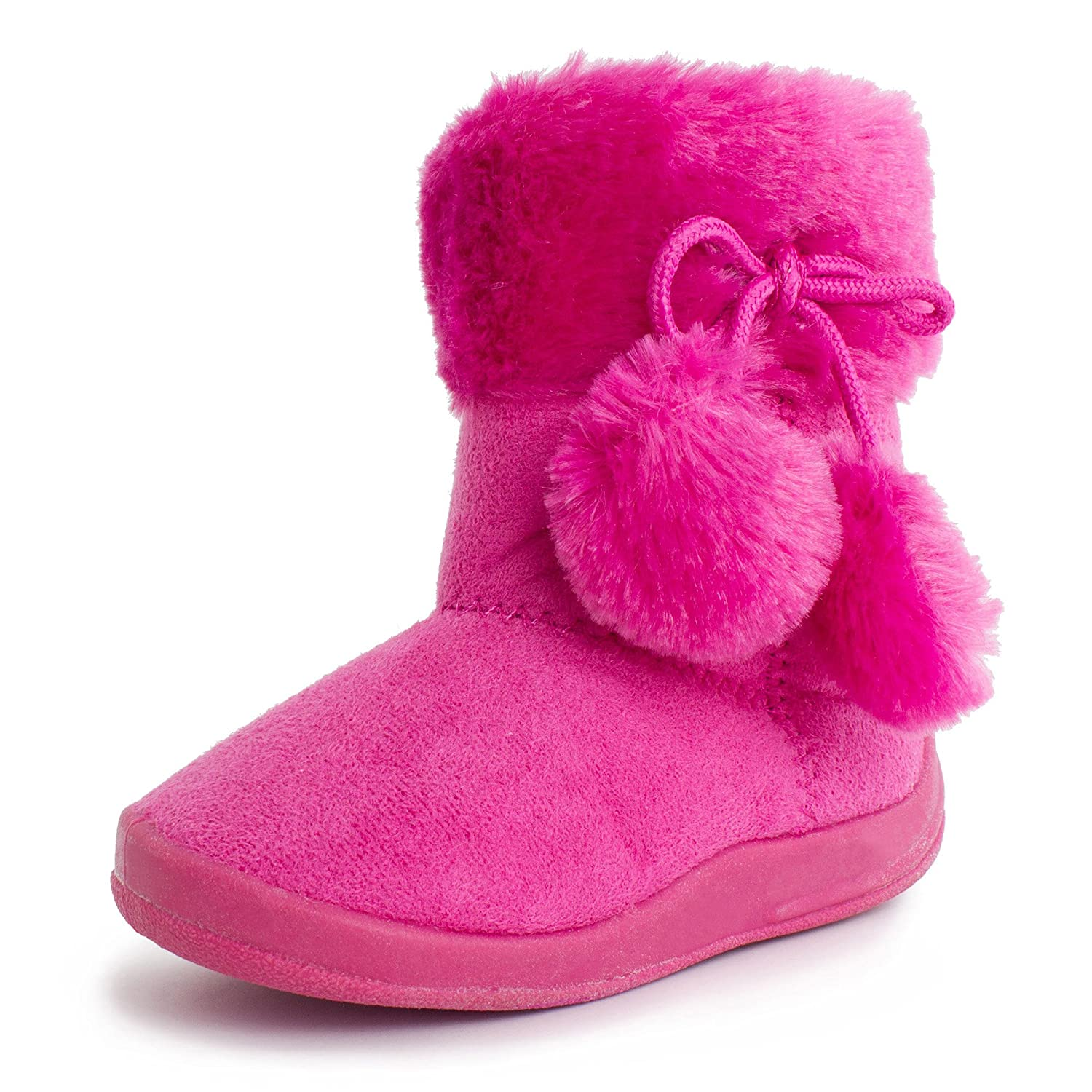 Kali Basic Comf Boots (Toddler/Little Kid) B00K8AD3UG 7 M US Toddler|Hot Pink