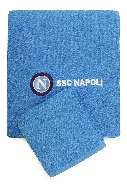 Ospite Set Spugna SSC Napoli Asciugamano
