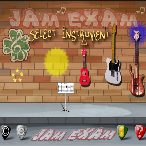 JAMExam Free - Edition for Guitar, Bass, Ukulele, Training - Baritone Blues Bass