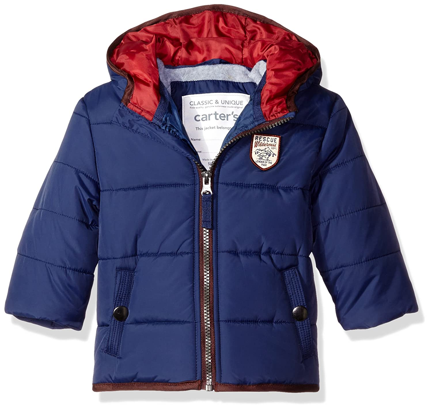 Carter's Baby Boys' Infant Classic Heavyweight Bubble Jacket C216630