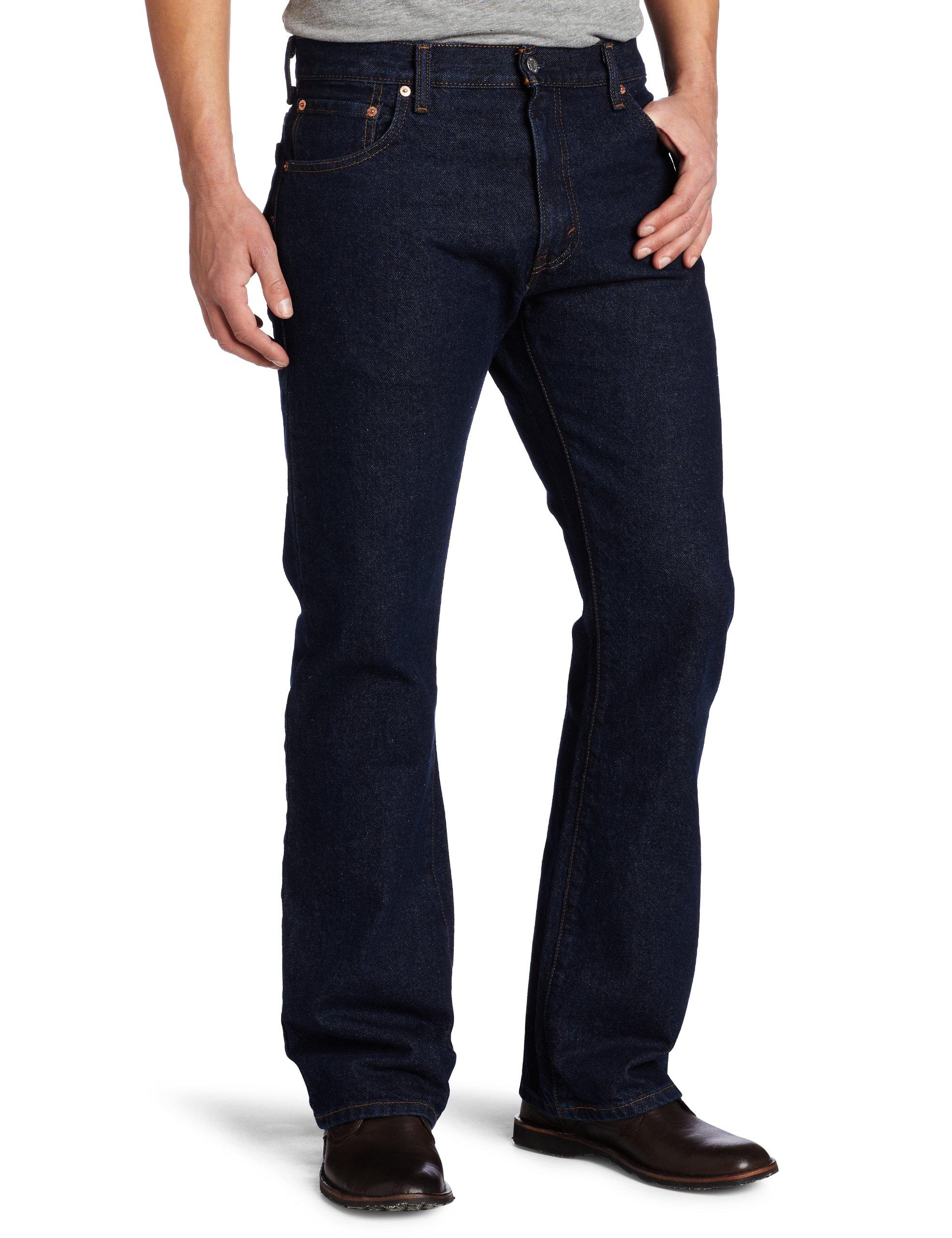 Levi's Men's 517 Boot Cut Jean, Rinse, 34x34