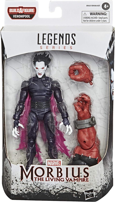 Premium Design Hasbro Marvel Legends Series Venom 6-inch Collectible Action Figure Toy Morbius