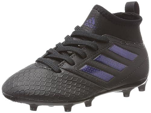 sale retailer 2cc56 5f07b adidas Ace 17.3 FG, Chaussures de Football Mixte Enfant, Noir Core Black, 28