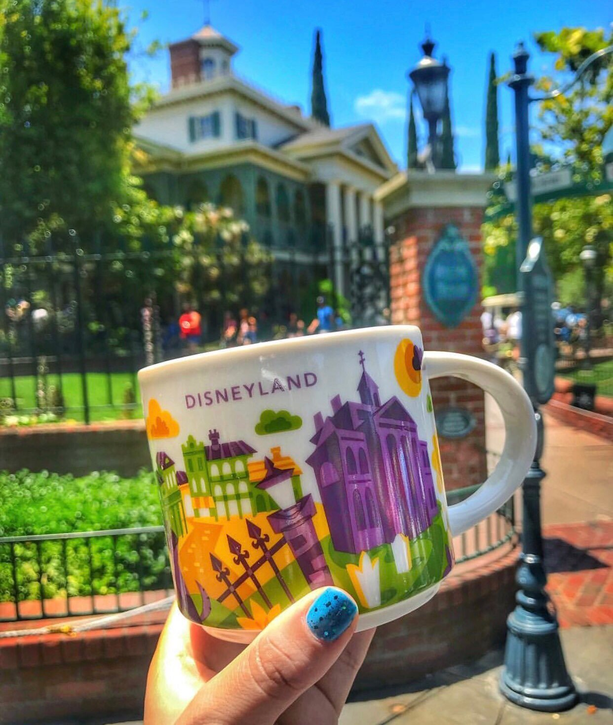 Disneyland Starbucks Theme Park Mugs (New Orleans Square)