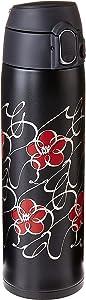 Zojirushi Stainless Steel Vacuum Insulated Mug, 16-Ounce, Kana Black