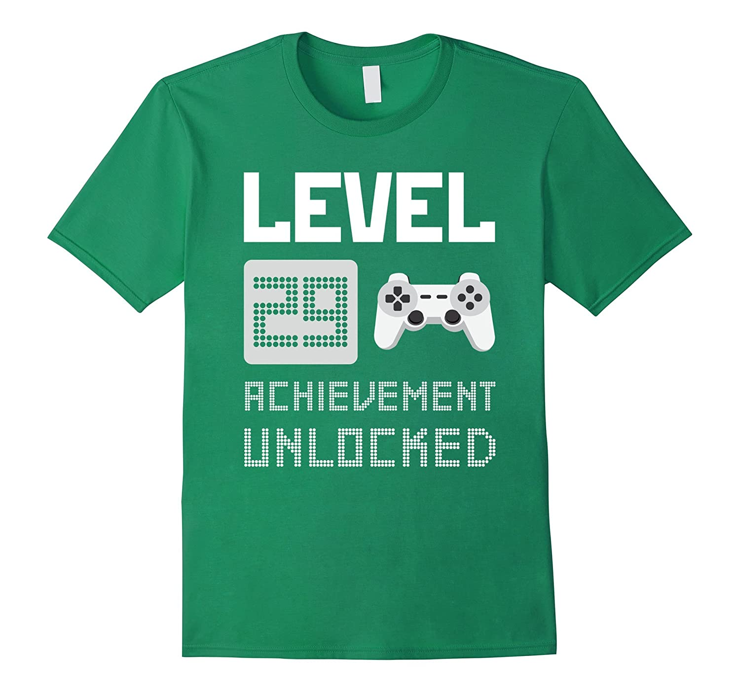 29th Birthday 1988 Gamer Level 29 Achievement Unlocked Shirt-ANZ