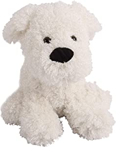 Decorative Door Stopper by Morgan Home – Available in Many Adorable Animals and Styles – Durable, Subtle Home Decor Easily Matches Measures Approx. 11 x 5.5 x 5.5 Inches (White Dog)