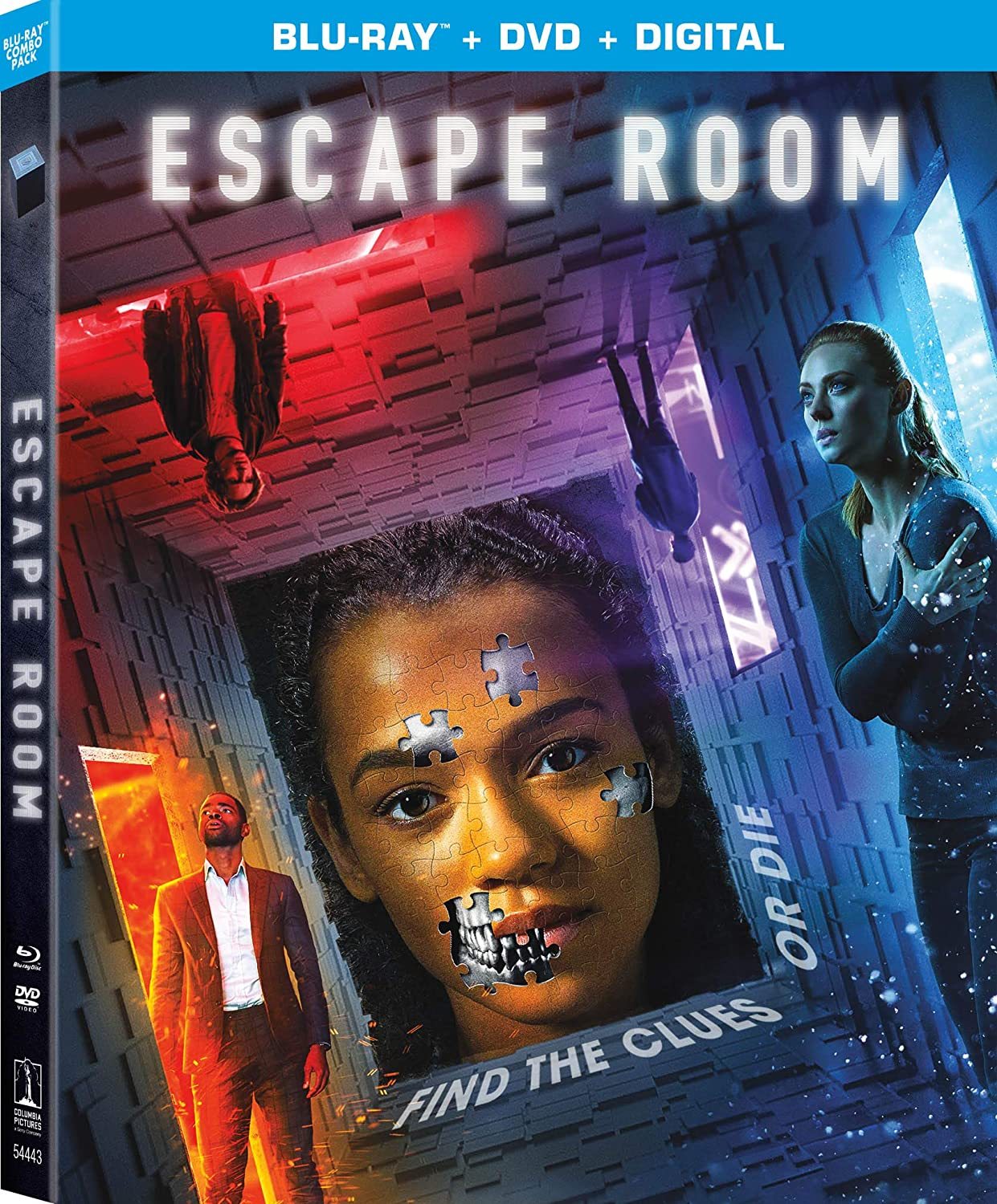 Amazon.com: Escape Room [Blu-ray]: Taylor Russell, Logan Miller ...
