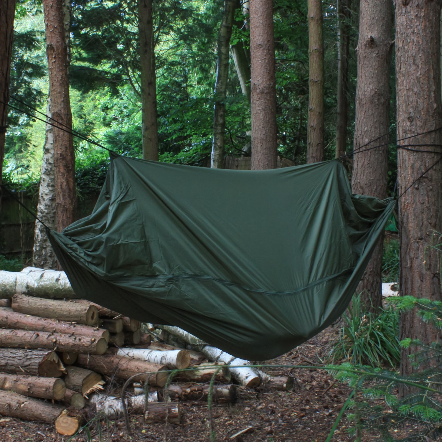 Andes Camping Jungle Hammock Hiking Military Survival Bushcraft Gear