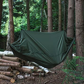 Andes C&ing Jungle Hammock Hiking Military Survival Bushcraft Gear & Andes Camping Jungle Hammock Hiking Military Survival Bushcraft ...