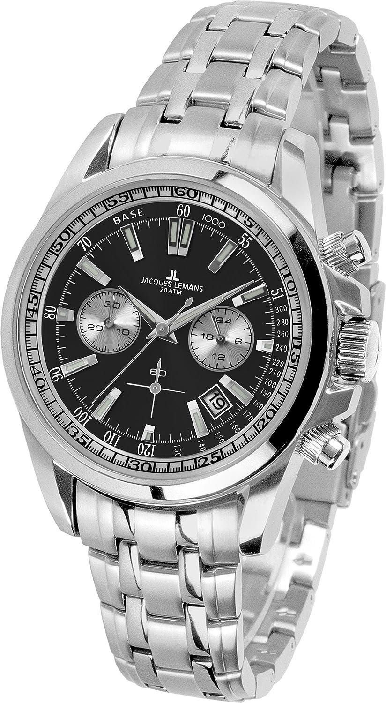 db7872d66988 Amazon.com  Jacques Lemans Liverpool 1-1117.1EN Mens Chronograph Design  Highlight  Watches