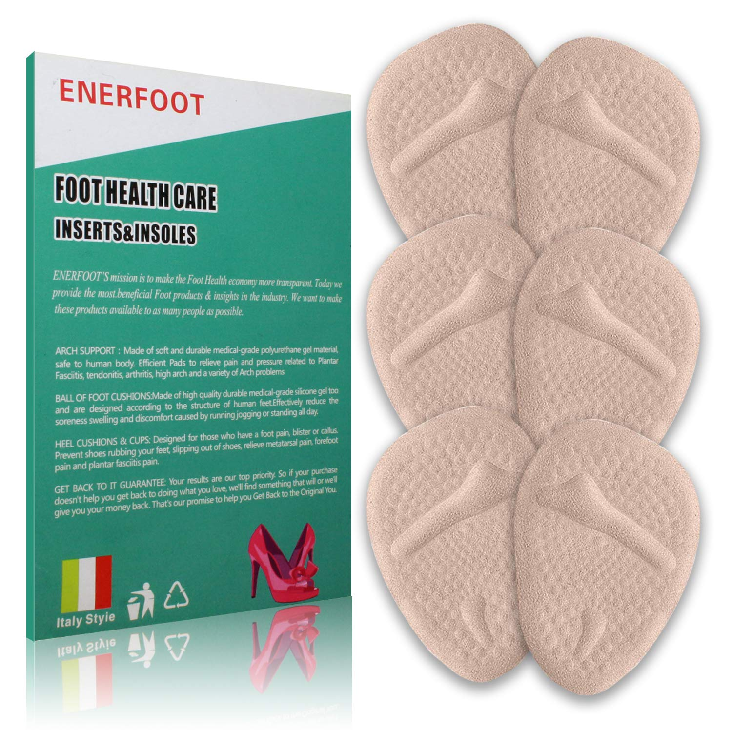 Most Of Our Customers Come On Feet >> Amazon Com Metatarsal Pads Metatarsal Pads For Women Ball Of