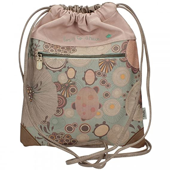Amazon.com: Sany Bags S.L. Anekke Nature Sack Bag Travel Tote, 39 cm, Multicolour: Amazon Global Store UK