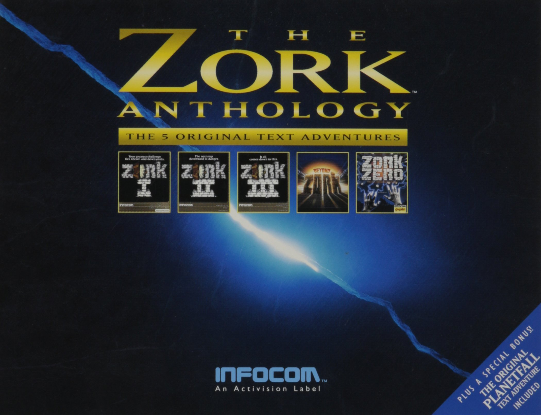 Zork Anthology: The 5 Original Text Adventures