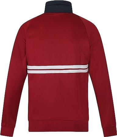Sergio Tacchini de los Hombres Dallas Track Jacket, Rojo