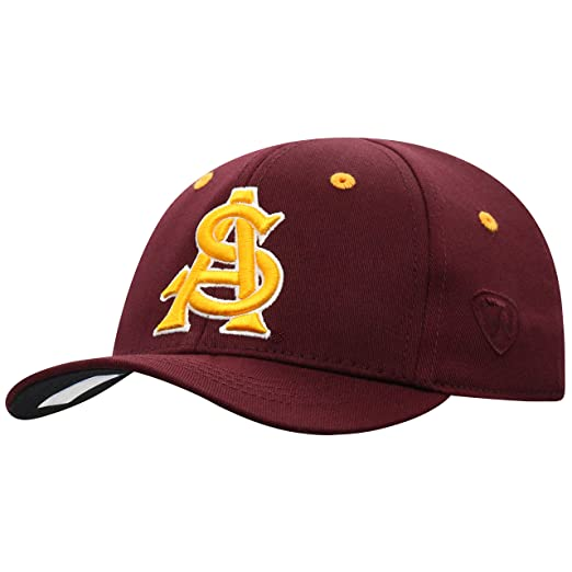 huge selection of 868ae b6070 Amazon.com   Arizona State Sun Devils Infant One-Fit Hat (Maroon)    Baseball Caps   Clothing