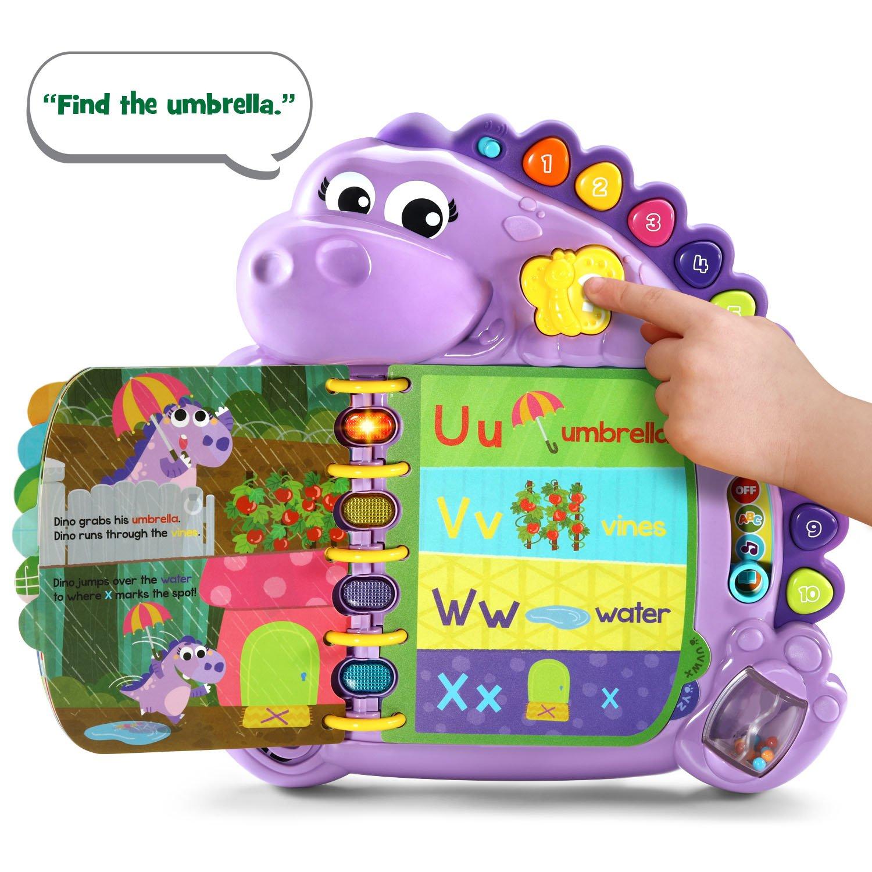 LeapFrog Dino's Delightful Day Alphabet Book, Purple (Amazon Exclusive) by LeapFrog (Image #3)