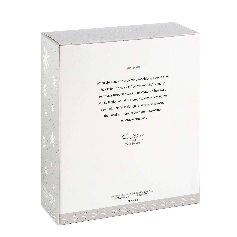 Hallmark Keepsake 2017 Wings to Fly Encouragement Porcelain Dated Christmas Ornament Hallmark Cards 1795QHX1202