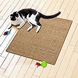 Tapis griffoir casa pura® nature pour chats | en sisal résistant | 3 tailles au choix | produit naturel - sans substances chimiques | 50x50cm