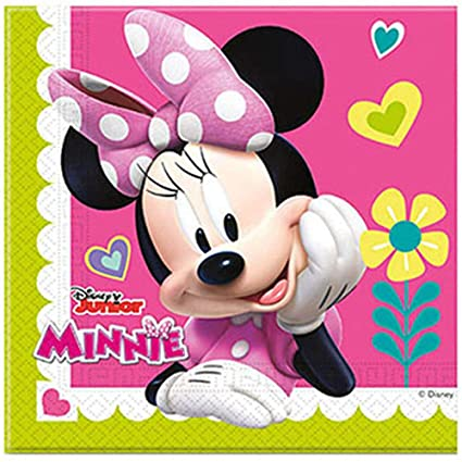 NADA HOME Servilletas Papel Oficial Disney Minnie para ...