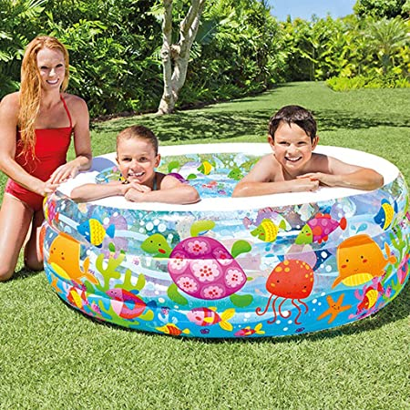swimming pool Piscinas Hinchables Piscina para Bebés Casa Inflable Piscina Grande Baño De Engrosamiento Piscina Infantil para Niños: Amazon.es: Hogar