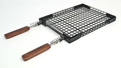 c7568e3b428c Amazon.com   Charcoal Companion Flip N  Easy Rectangle Grilling ...