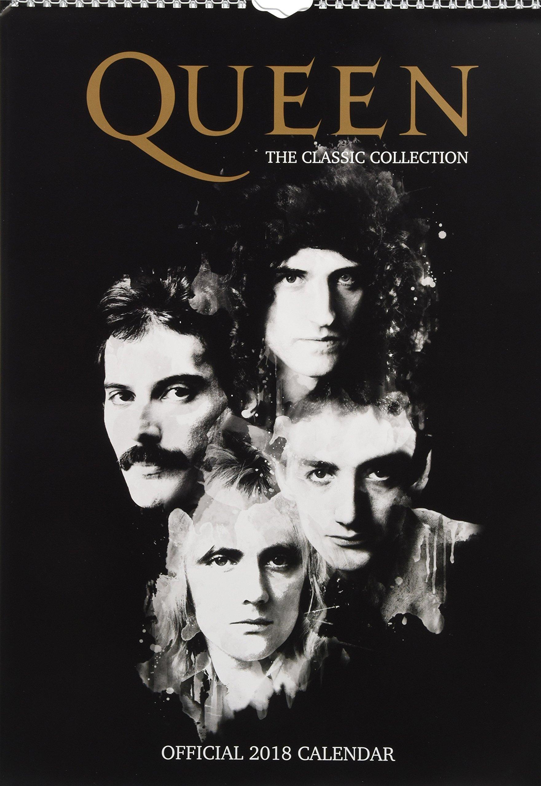 queen official 2018 calendar a3 poster format 9781785493188 amazoncom books