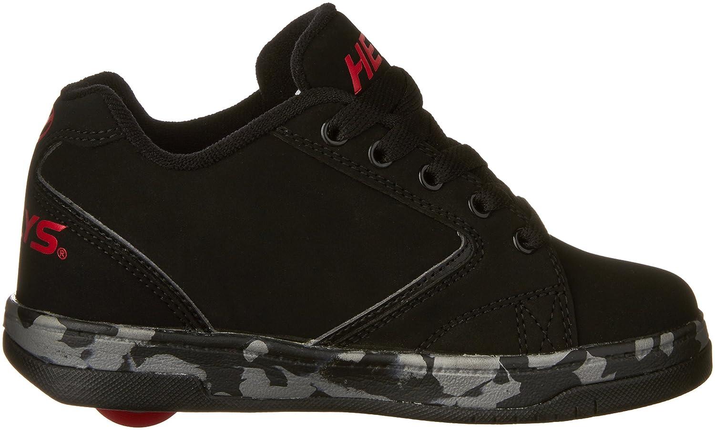 Heelys Propel 2.0 Skate Shoe (Little Kid/Big Kid) B01DCQN8FC 1 M US|Black/Red/Confetti