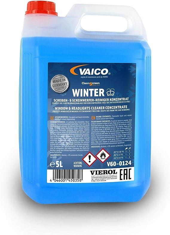 Vaico Cleanscreen Winter 5l Scheibenreiniger Konzentrat Mit Frostschutzmittel Auto