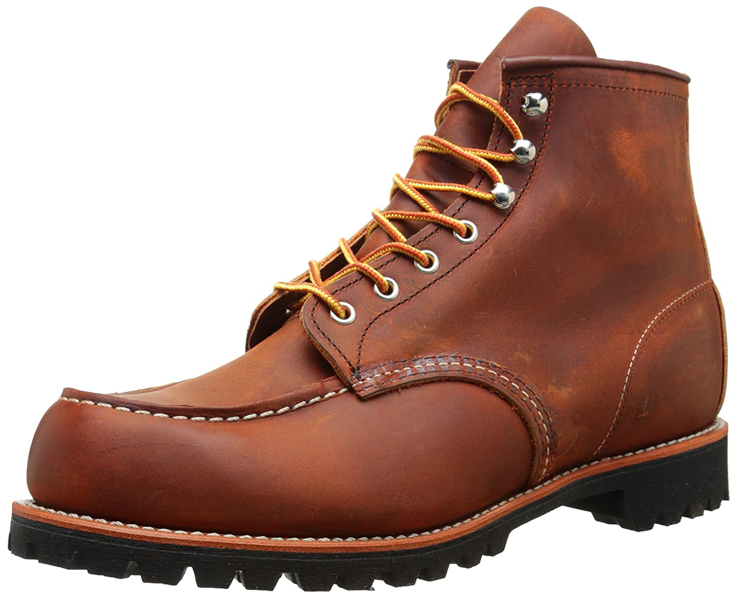 Red Wing Mens Roughneck 2942 Leather Boots  44 EU|Copper