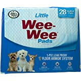 Four Paws Wee-Wee Little Dog Housebreaking Pads, 28 Pack