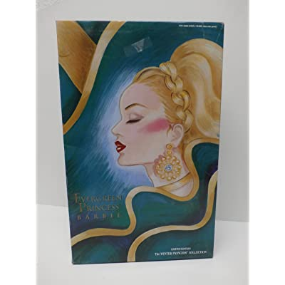 Mattel 1994 Evergreen Princess Blonde Barbie: Toys & Games